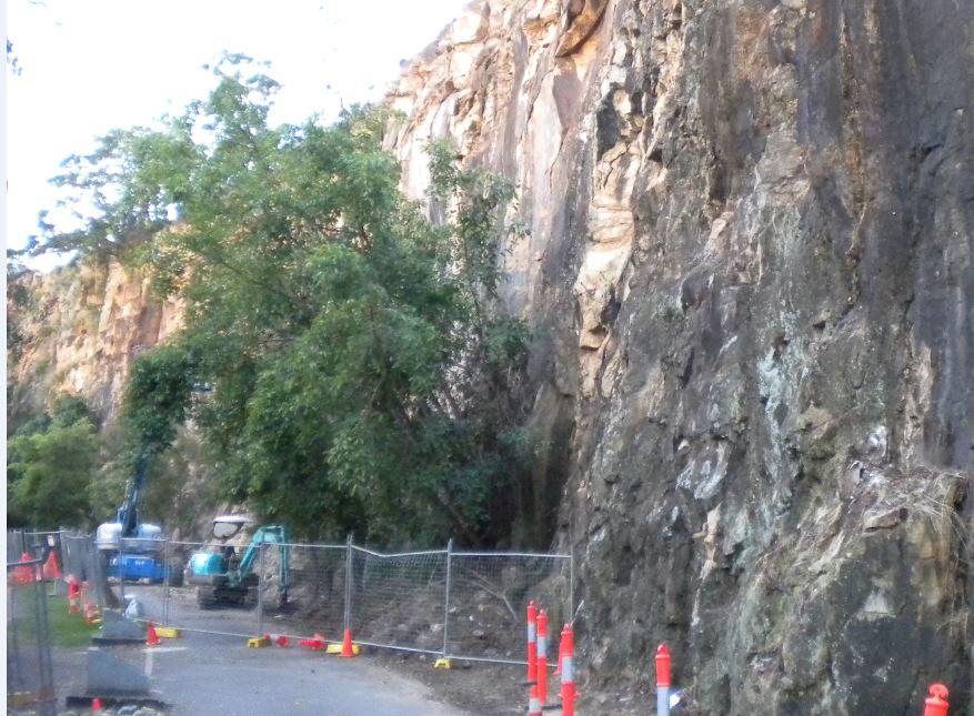 Cliff Stabilisation